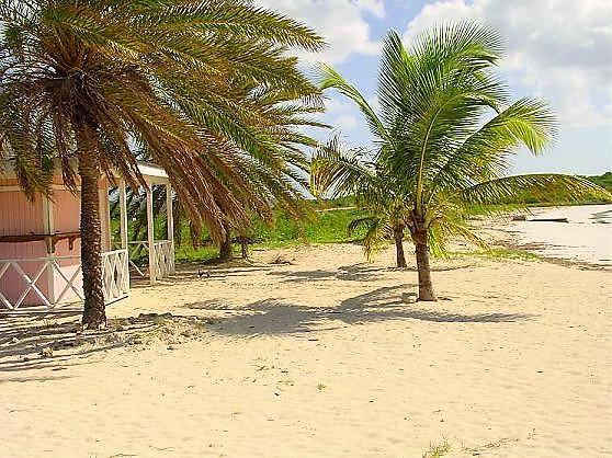 Beach and Beach Hut