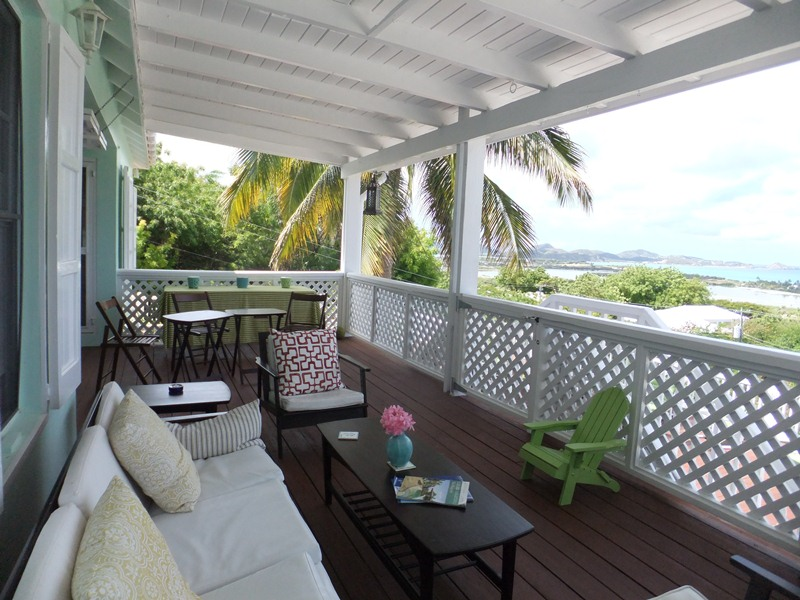 Upstairs Deck With Fabulous View
